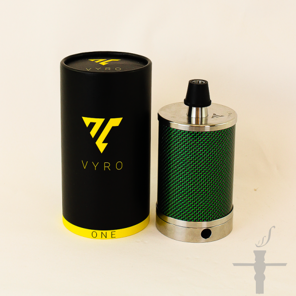 Vyro One Carbon Green