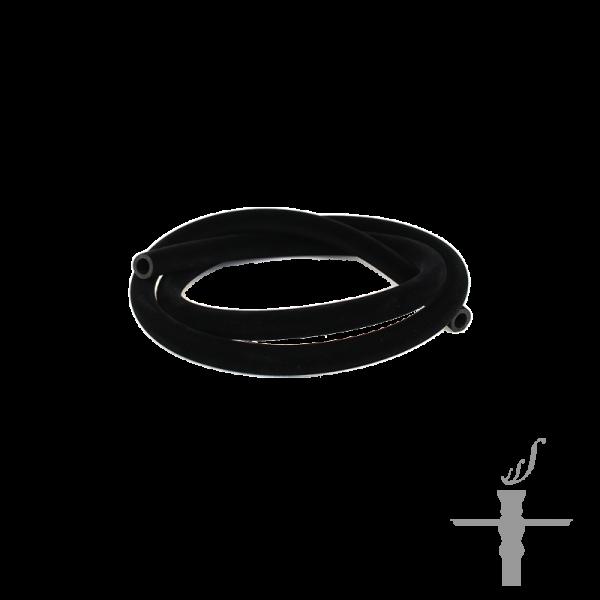 Silikonschlauch mit Samt Schwarz