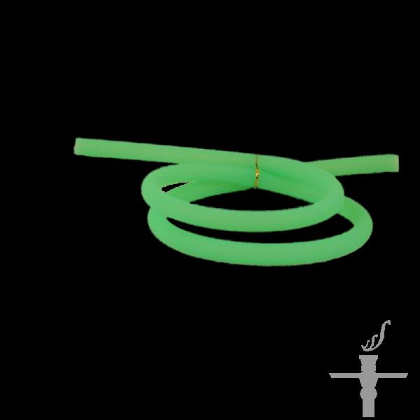 Silikonschlauch Neongrün / Matt