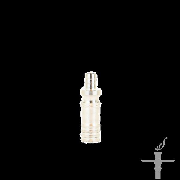 Smokah Schlauchadapter Set Silber 2550