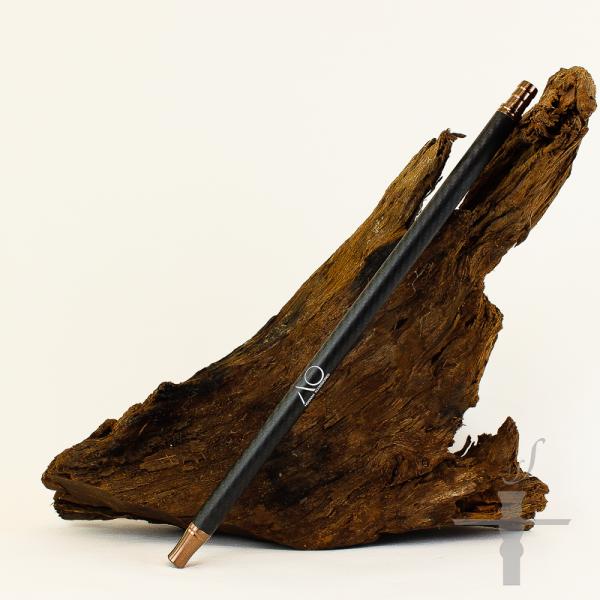 AO Carbon Mundstück lang Bronze-Schwarz