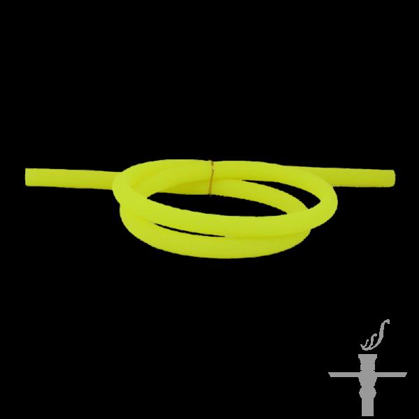 Silikonschlauch Neongelb / Matt