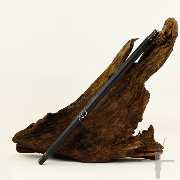 AO Carbon Mundstück lang Gun Metal-Schwarz